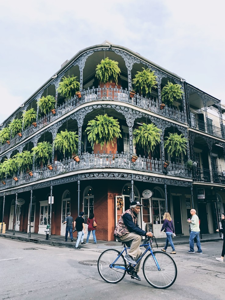 One of the most photographed building of the French Quarter
