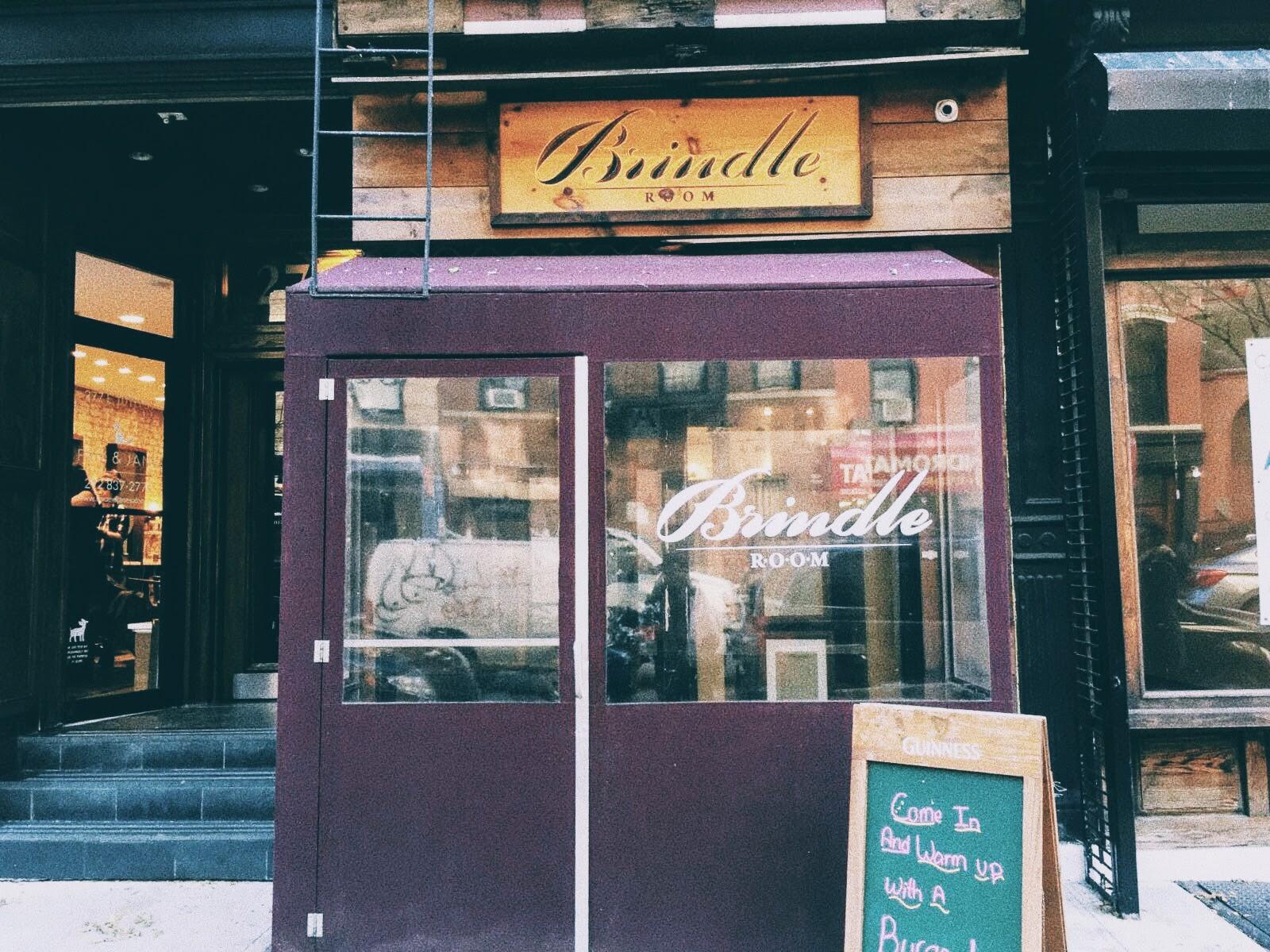 Brindle Room, New York