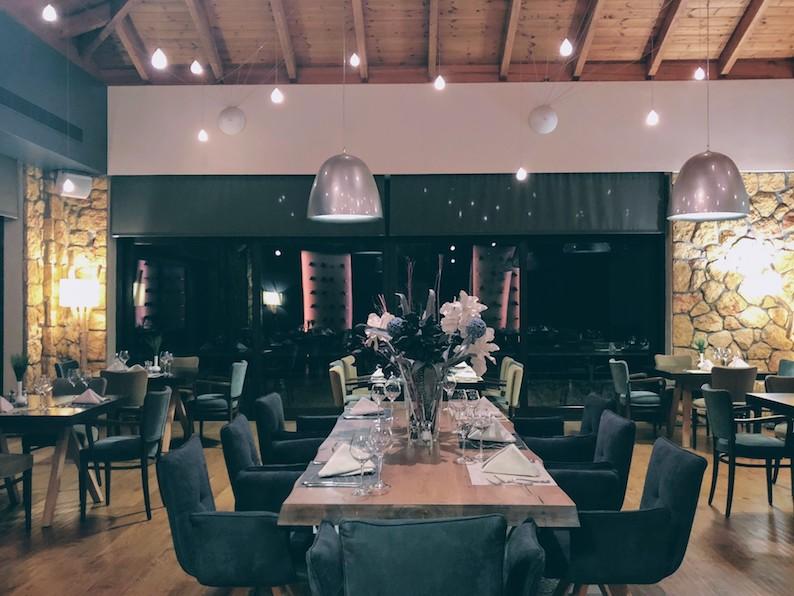 Dinner room at Pliadon Gi hotel