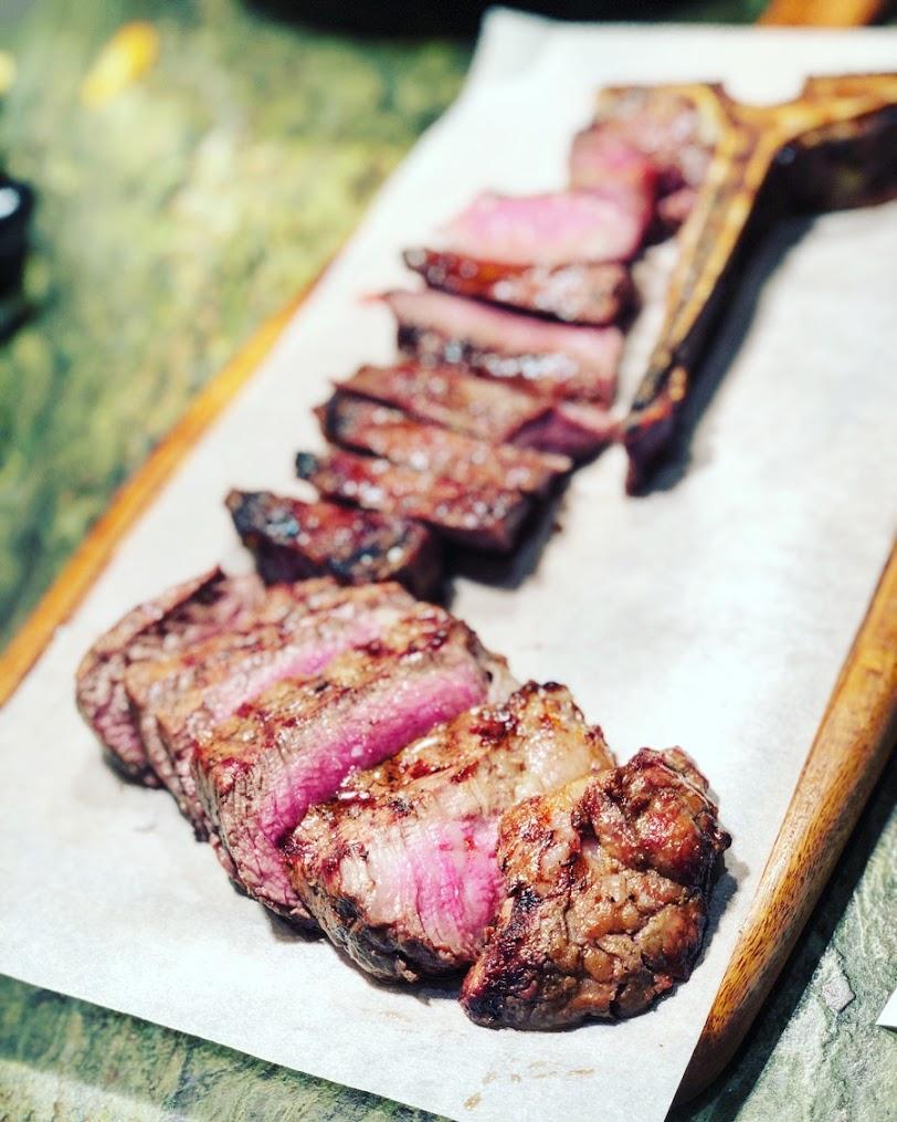 Premium beef cuts at Farma Mprallou