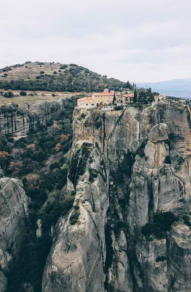 St Stephanos monastery at Meteora