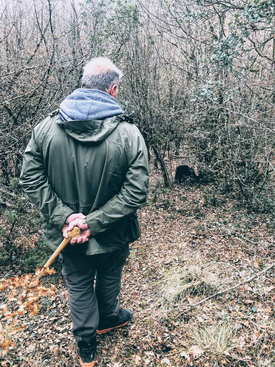 Truffle-hunting at Miliotades