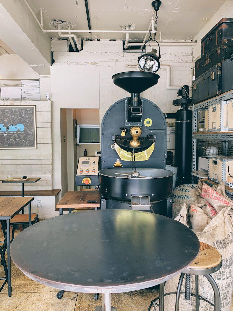 The 5kg PROBAT roaster