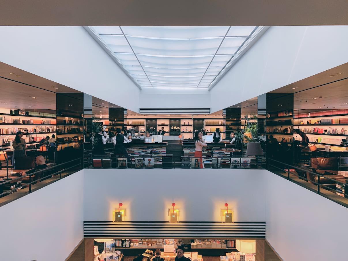 T-bookstore at Daikanyama, Tokyo