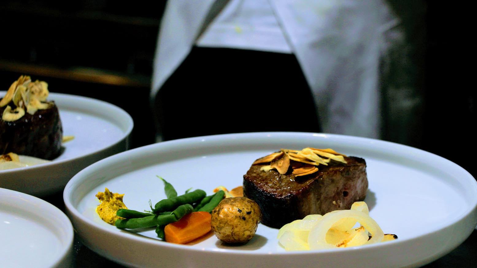 Beef wagyu steak at Shima, Tokyo