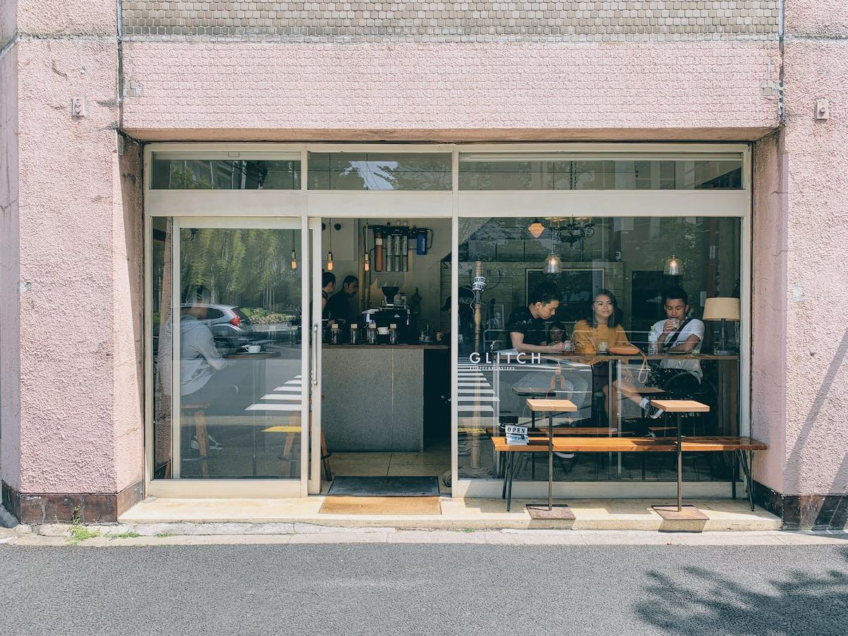 Storefront at Glitch, Tokyo