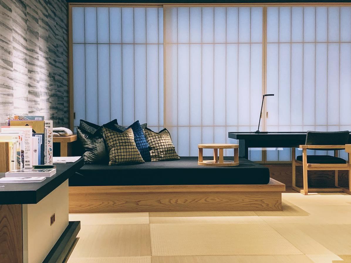 Common space at Tokyo Hosinoya