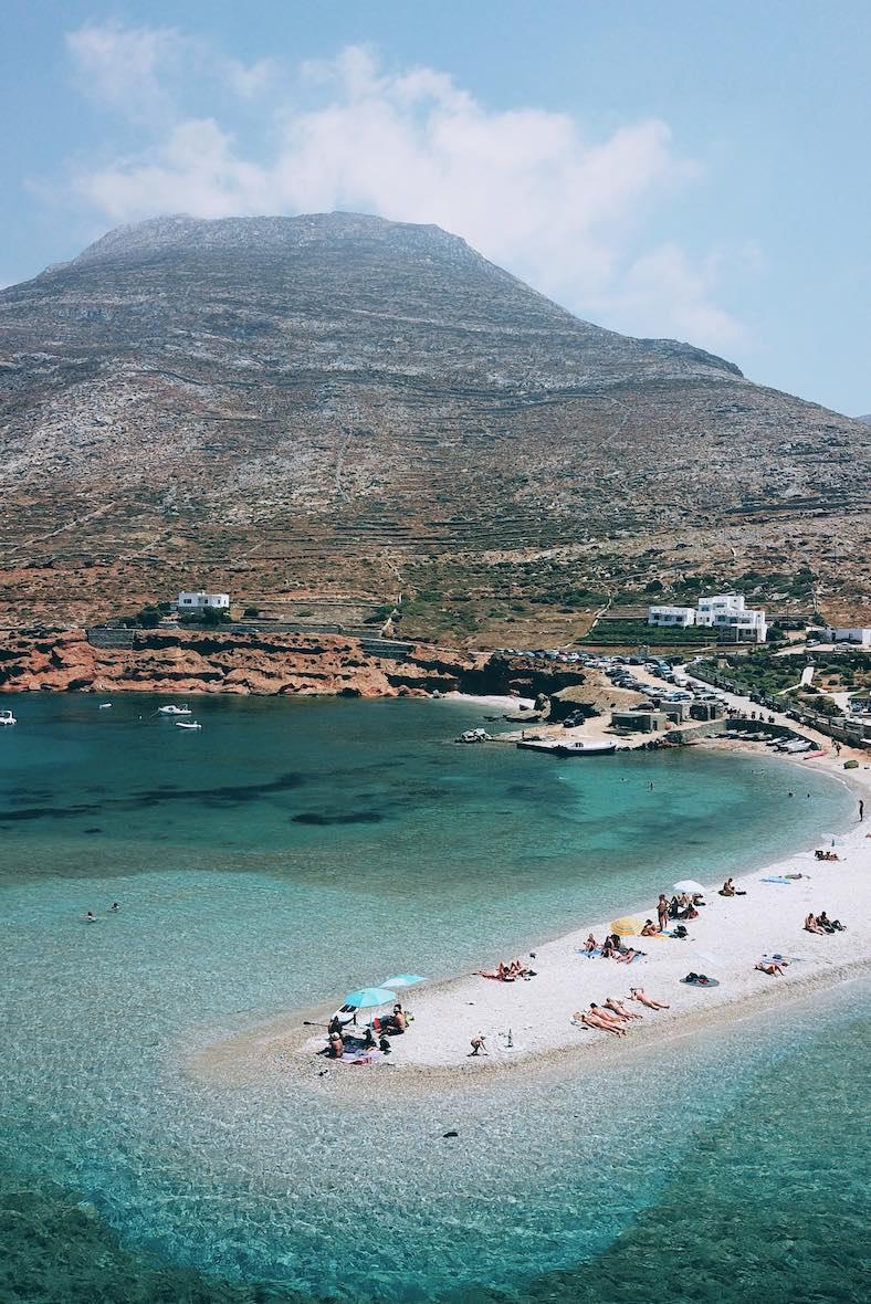 Agios Pavlos beach, Amorgos