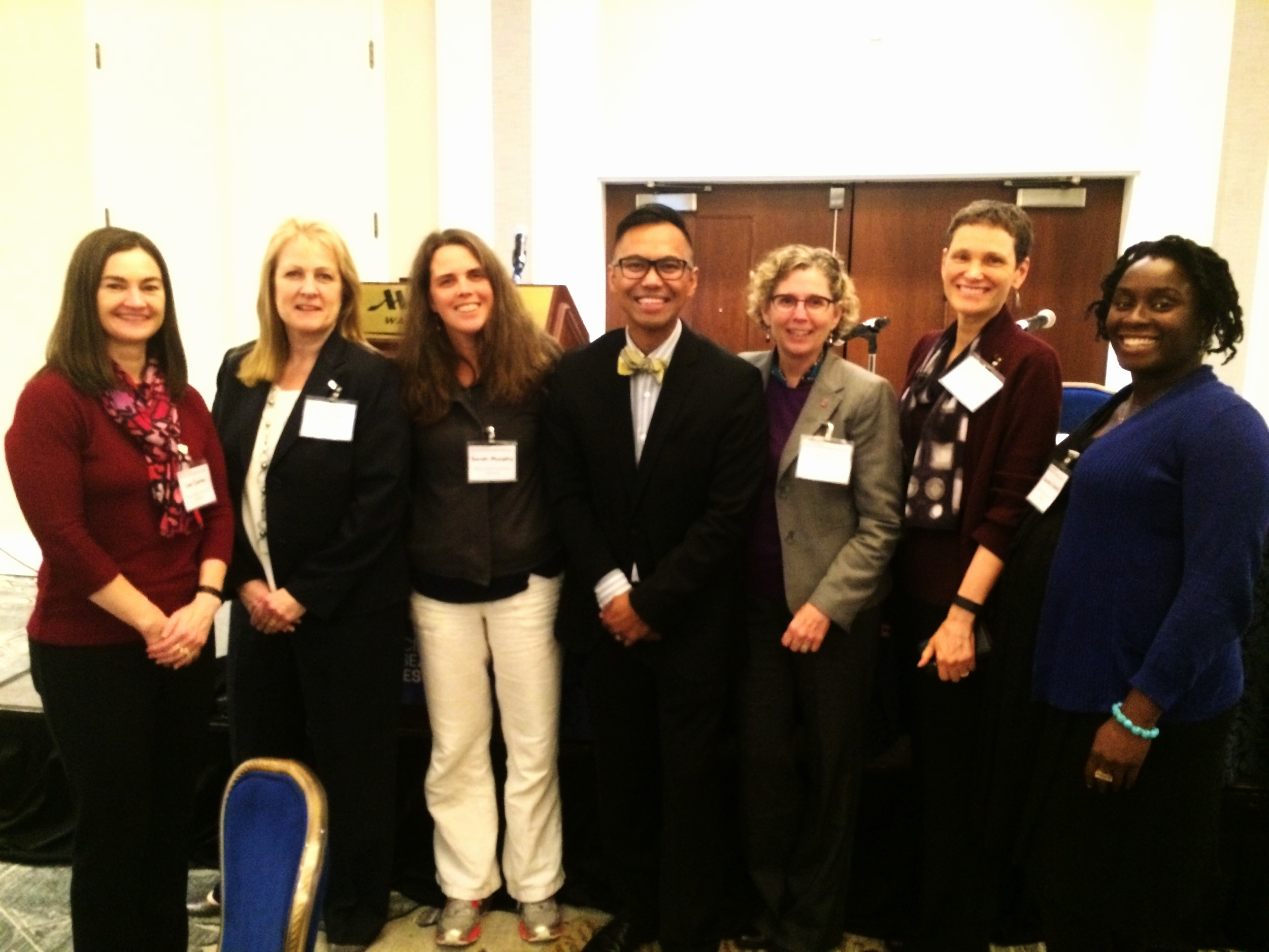 Much love from the delegation from Ohio State University Libraries