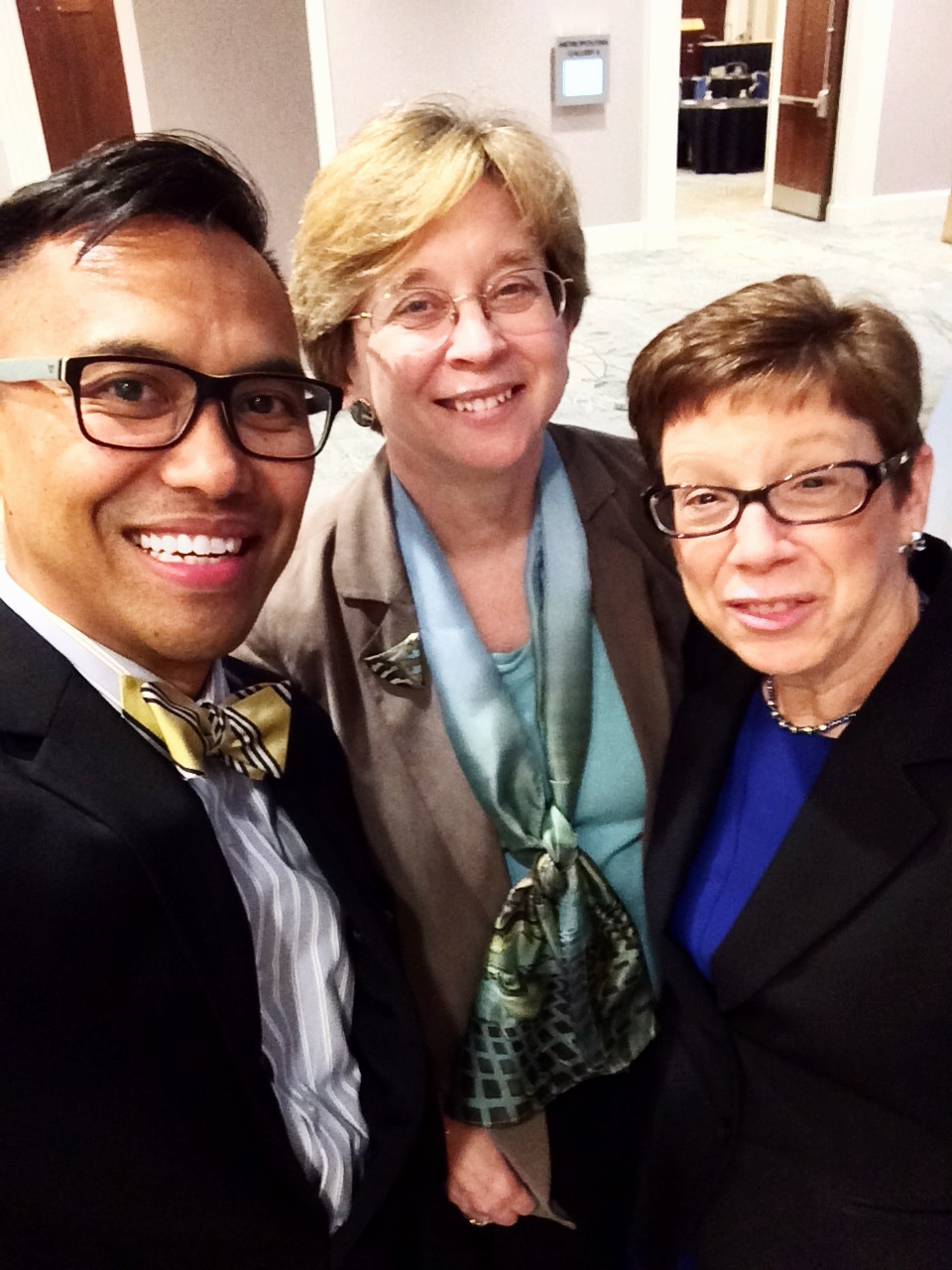 Sarah M. Pritchard, Dean of Libraries and the Charles Deering McCormick University Librarian; and Mary Case, ARL President, University Librarian and Dean of Libraries, University of Illinois, Chicago