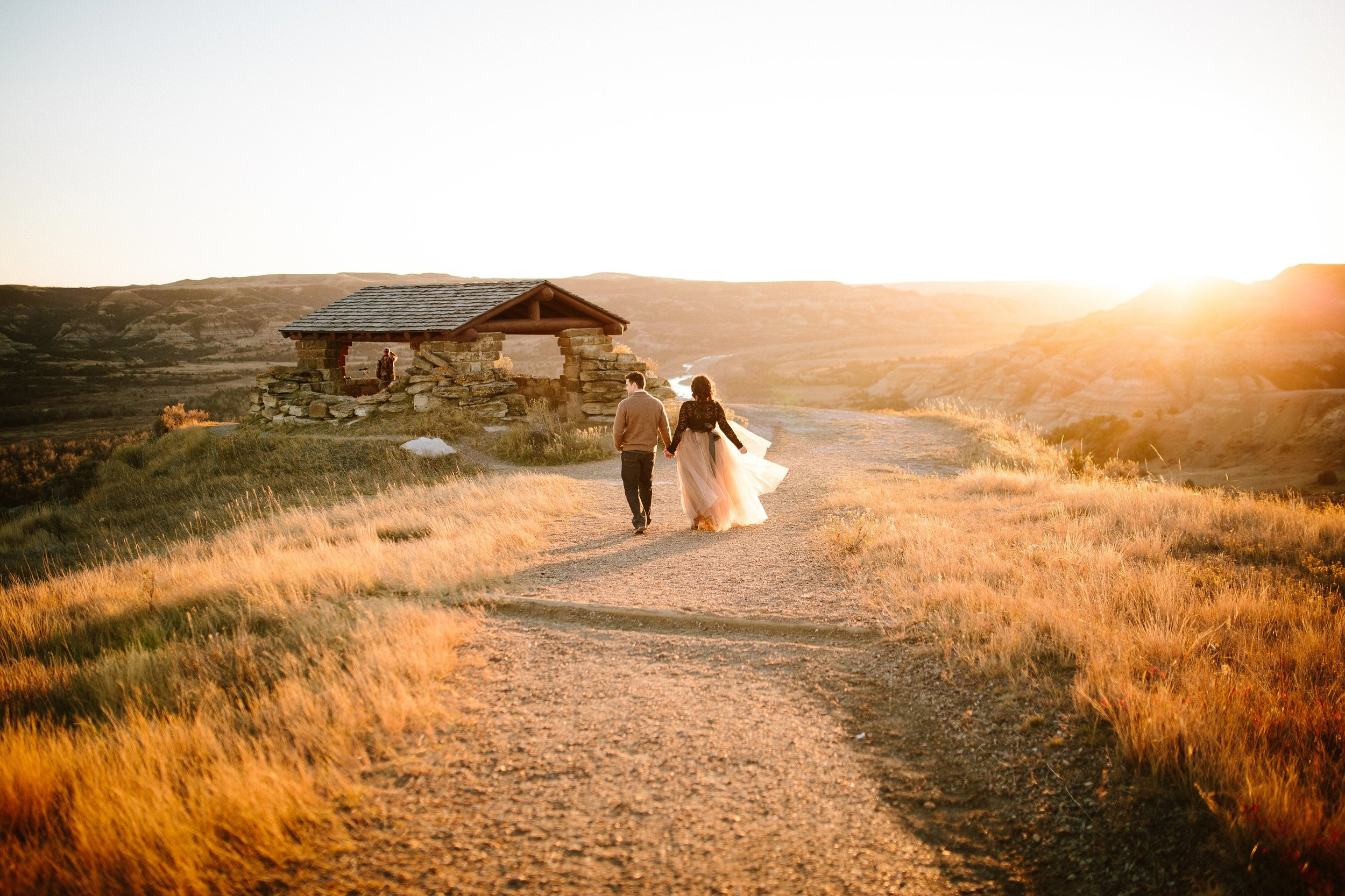 Romantic Love Anniversary Adventure Session at the Theodore Roosevelt National Park in North Dakota by Seattle WA destination portrait and engagement photographer Janelle Elaine Photography.jpg