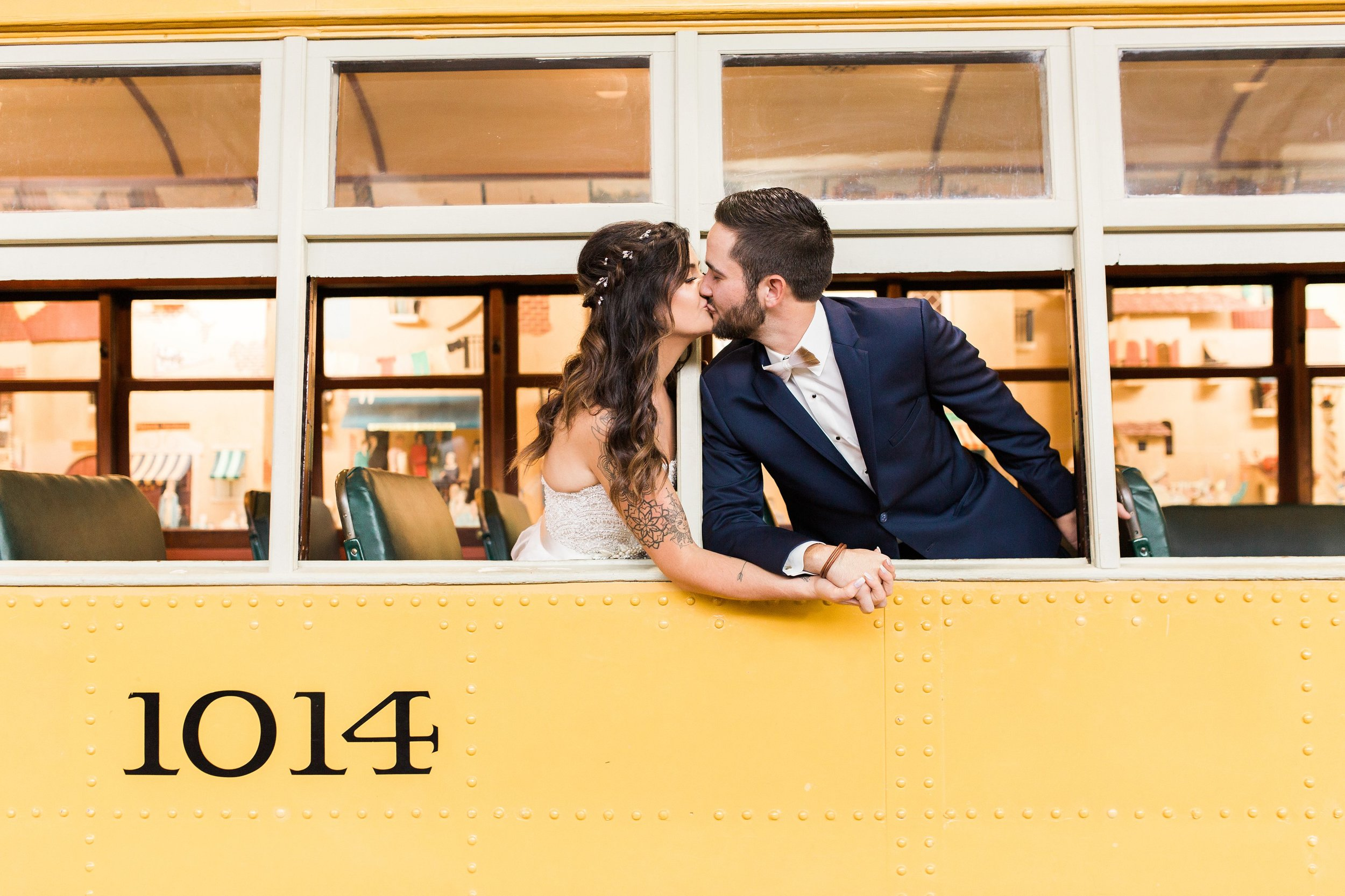 bride and groom portraits in a train-durham museum wedding-omaha nebraska-by seattle wa destination wedding photographer janelle elaine photography-2.jpg