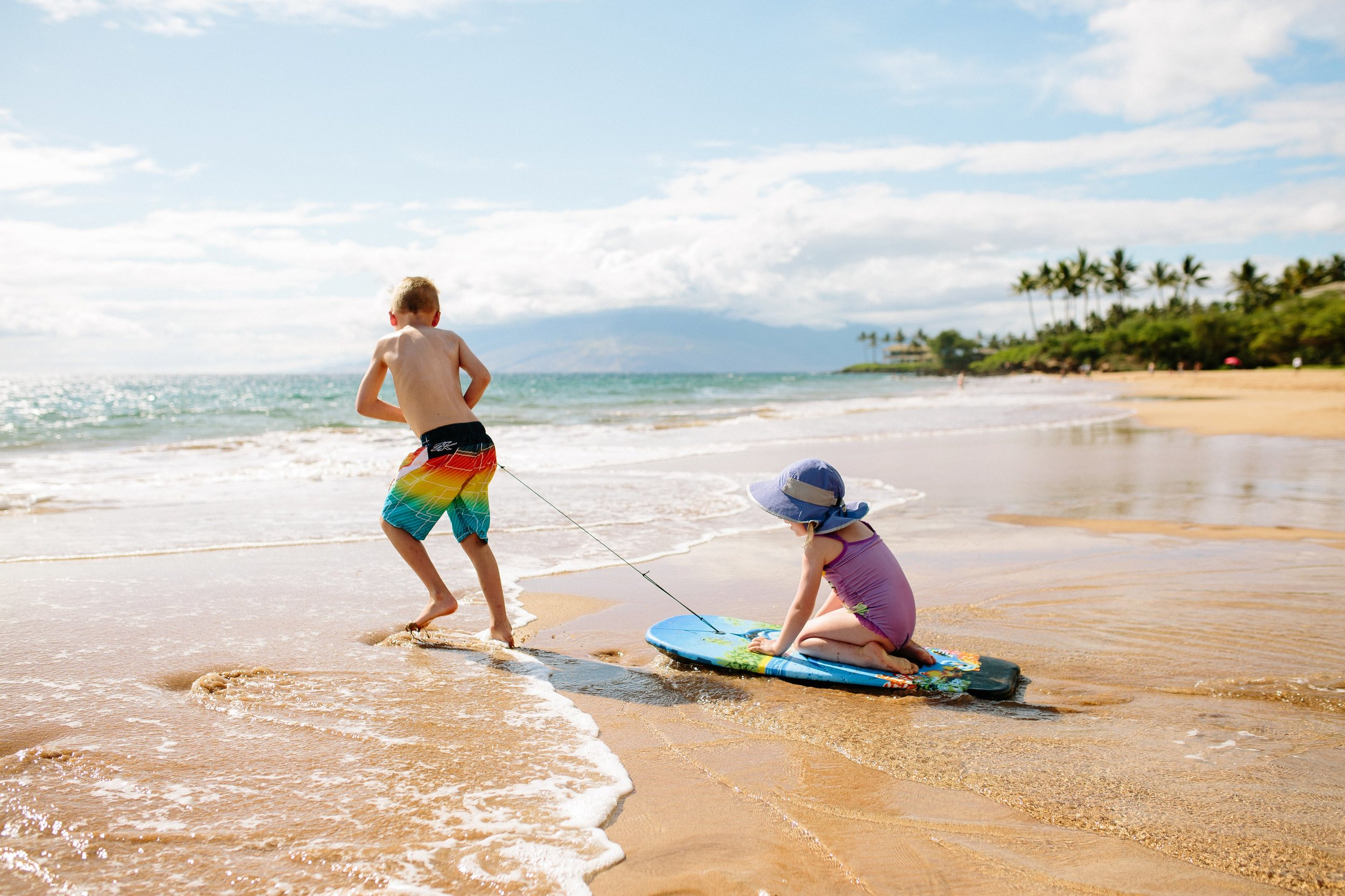 Family Beach Day Photo Session on Maui by Seattle Destionation Lifestyle Photographer Janelle Elaine Photography.jpg