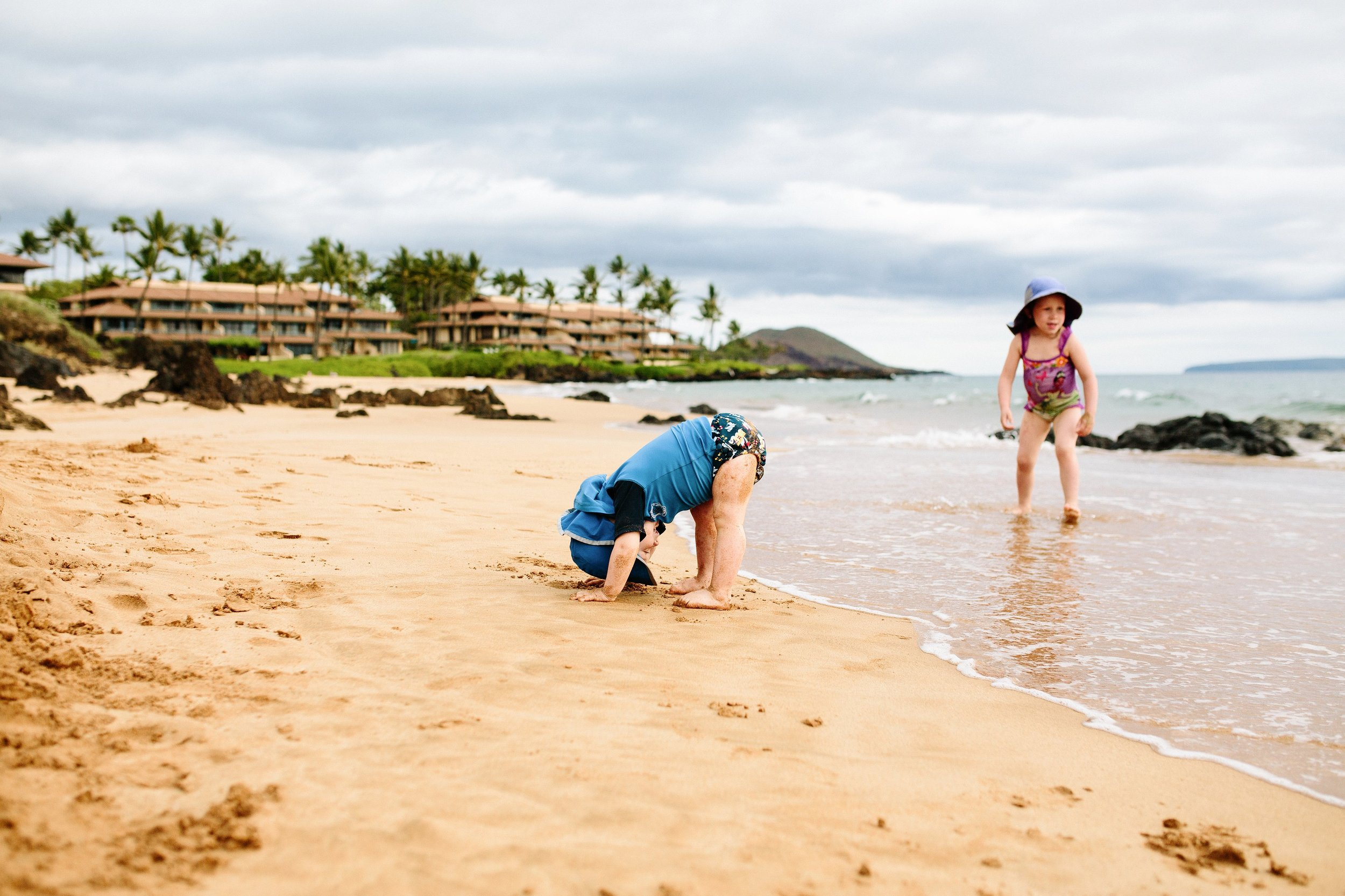 Family Beach Day Photo Session on Maui by Seattle Lifestyle Photographer Janelle Elaine Photography.jpg