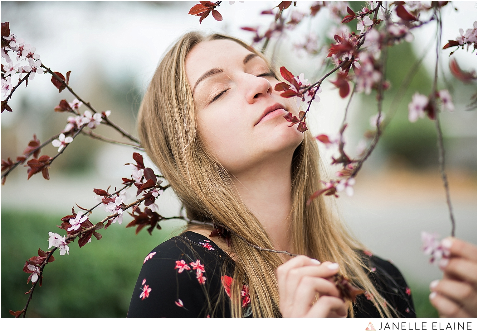 kirsi-renton wa portrait sesssion-cherry blossom-h&m dress-seattle photographer janelle elaine photography-26.jpg