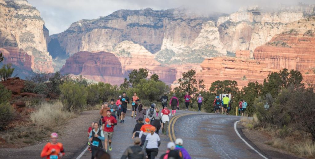Photo courtesy of  Sedona Marathon