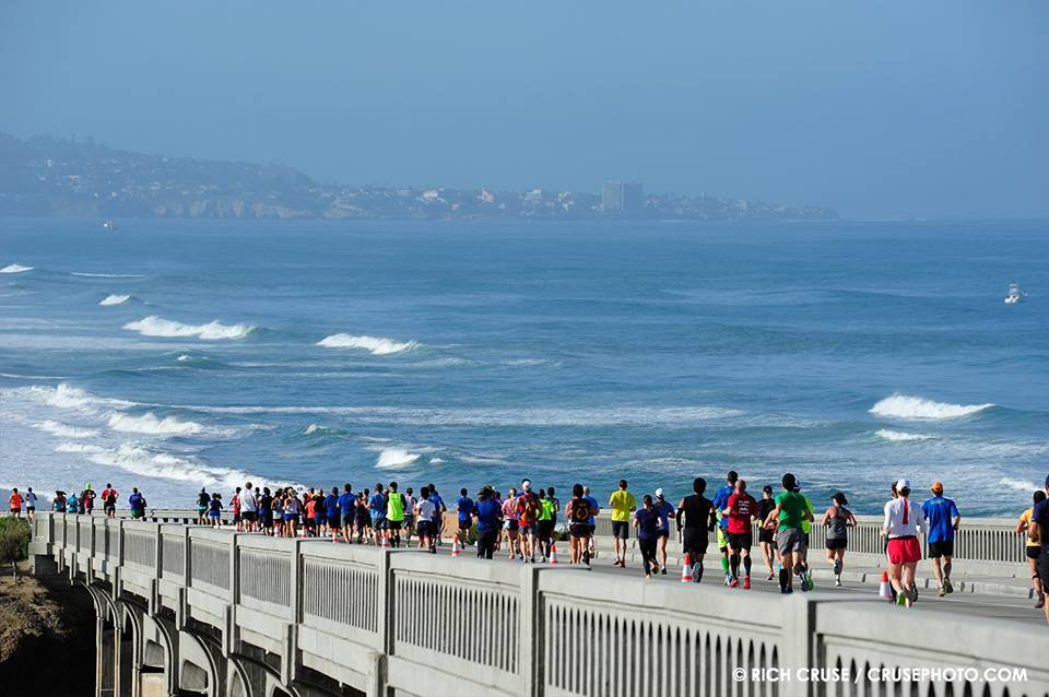 Photo courtesy of La Jolla Half Marathon Facebook