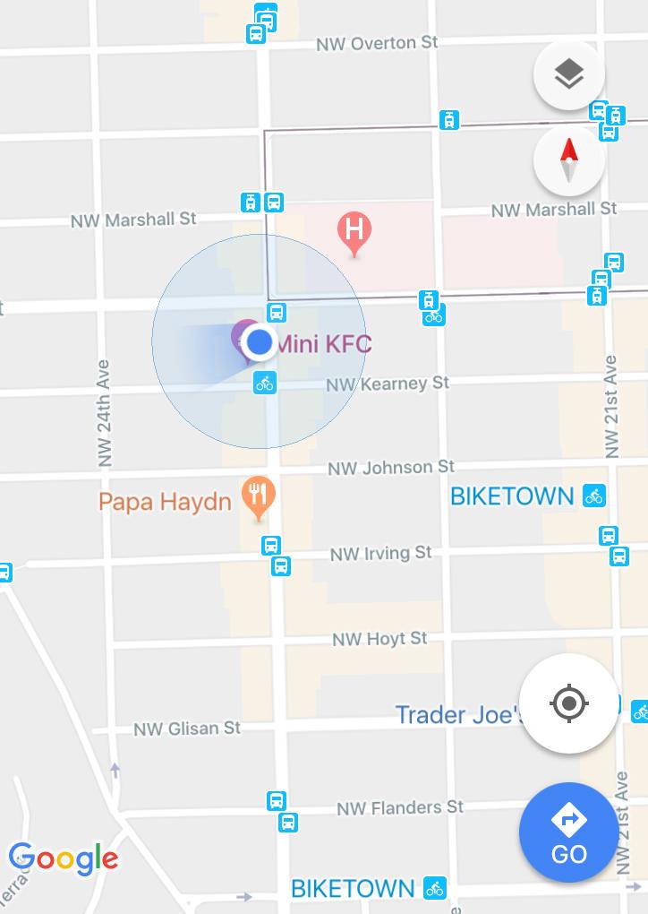 We made it onto Google Maps
