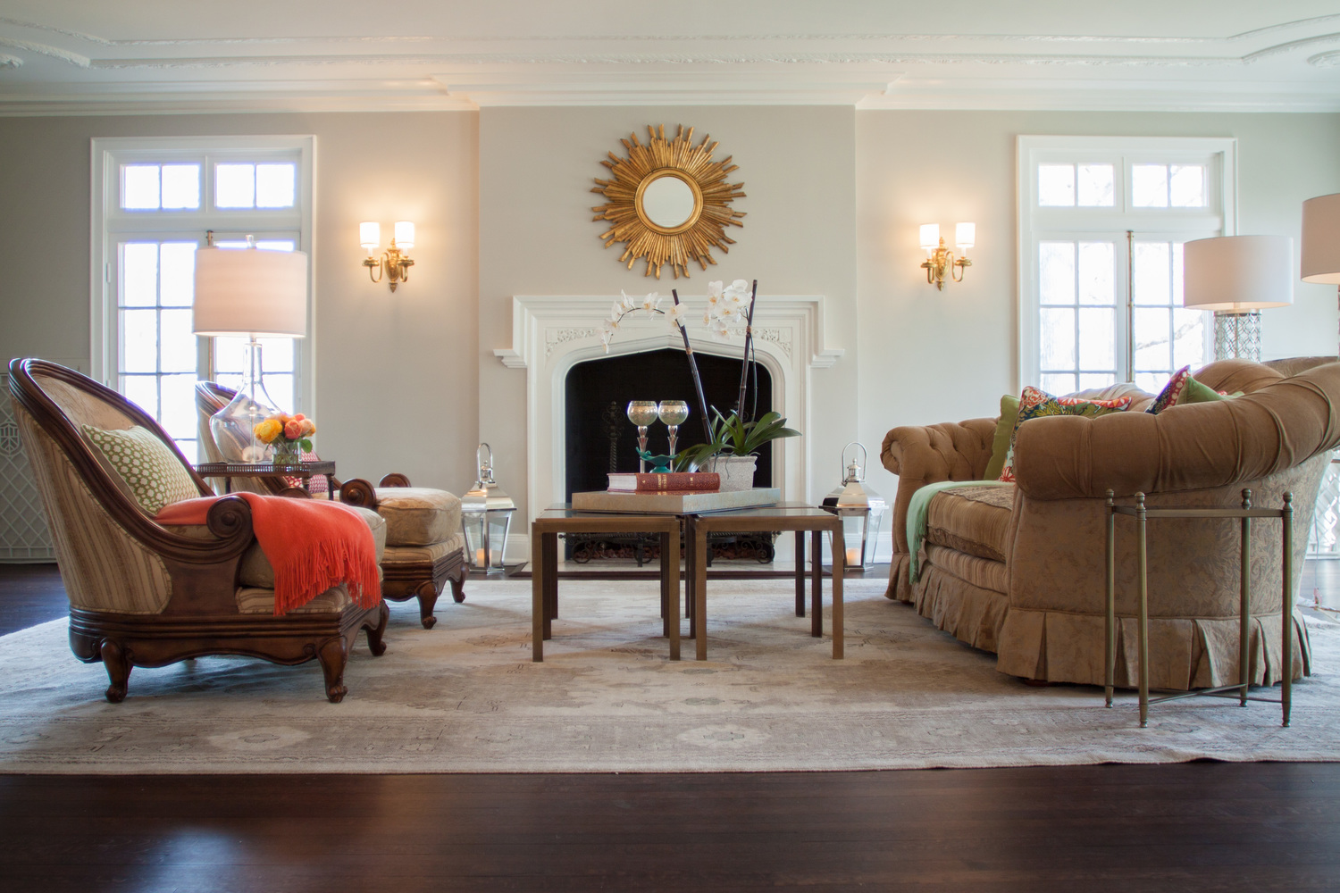 NEW LOOK FOR A TRADITIONAL TUDOR