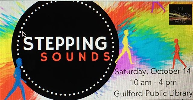Join us Saturday, October 14 from 10-4 at the Guilford Public Library for an interactive exhibit where your body creates the 🎶! #makeartcollaborative #interactiveart #installationart #newart #guilford #connecticut #guilfordperformingartsfestival