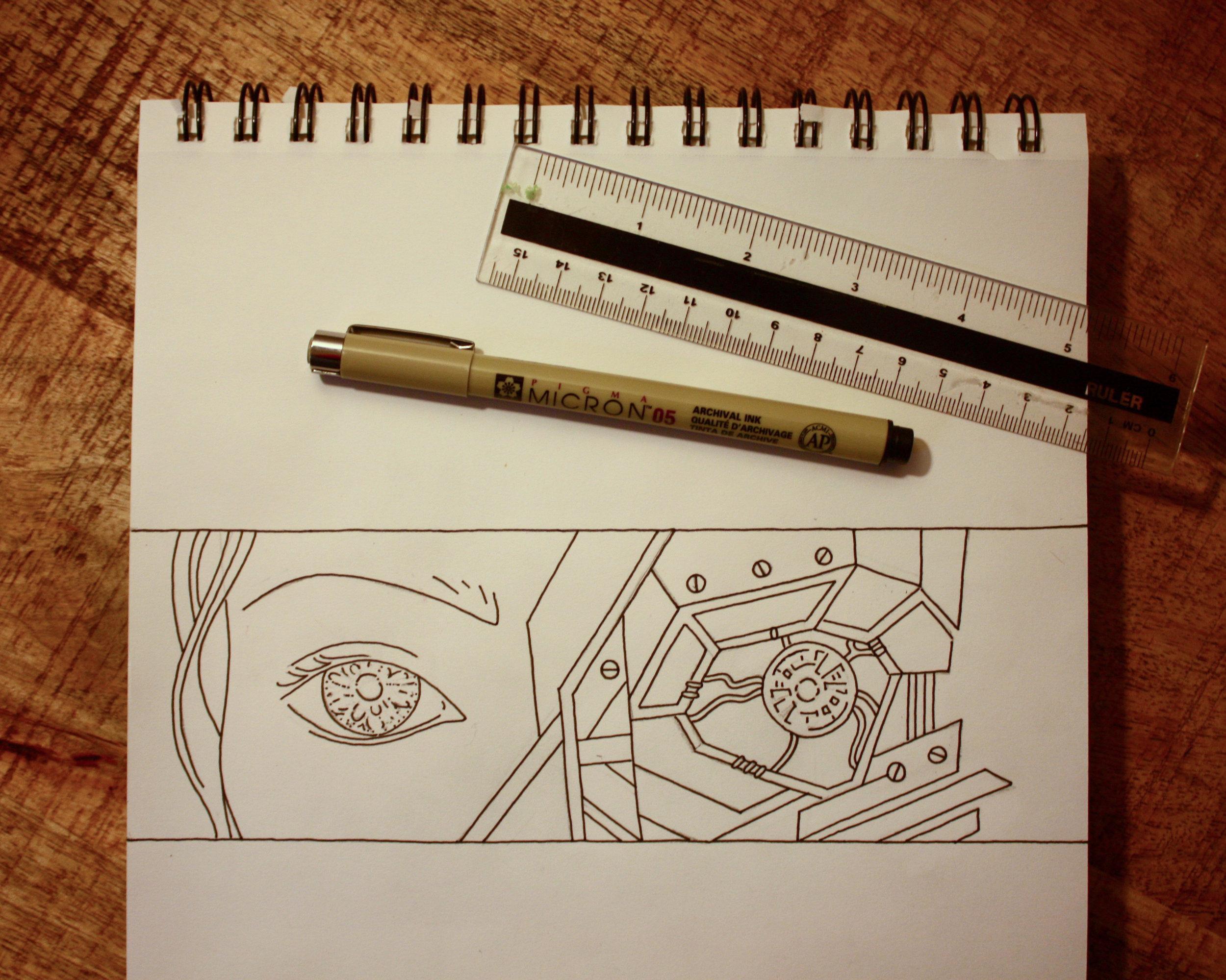 Ink & Pencil Sketch