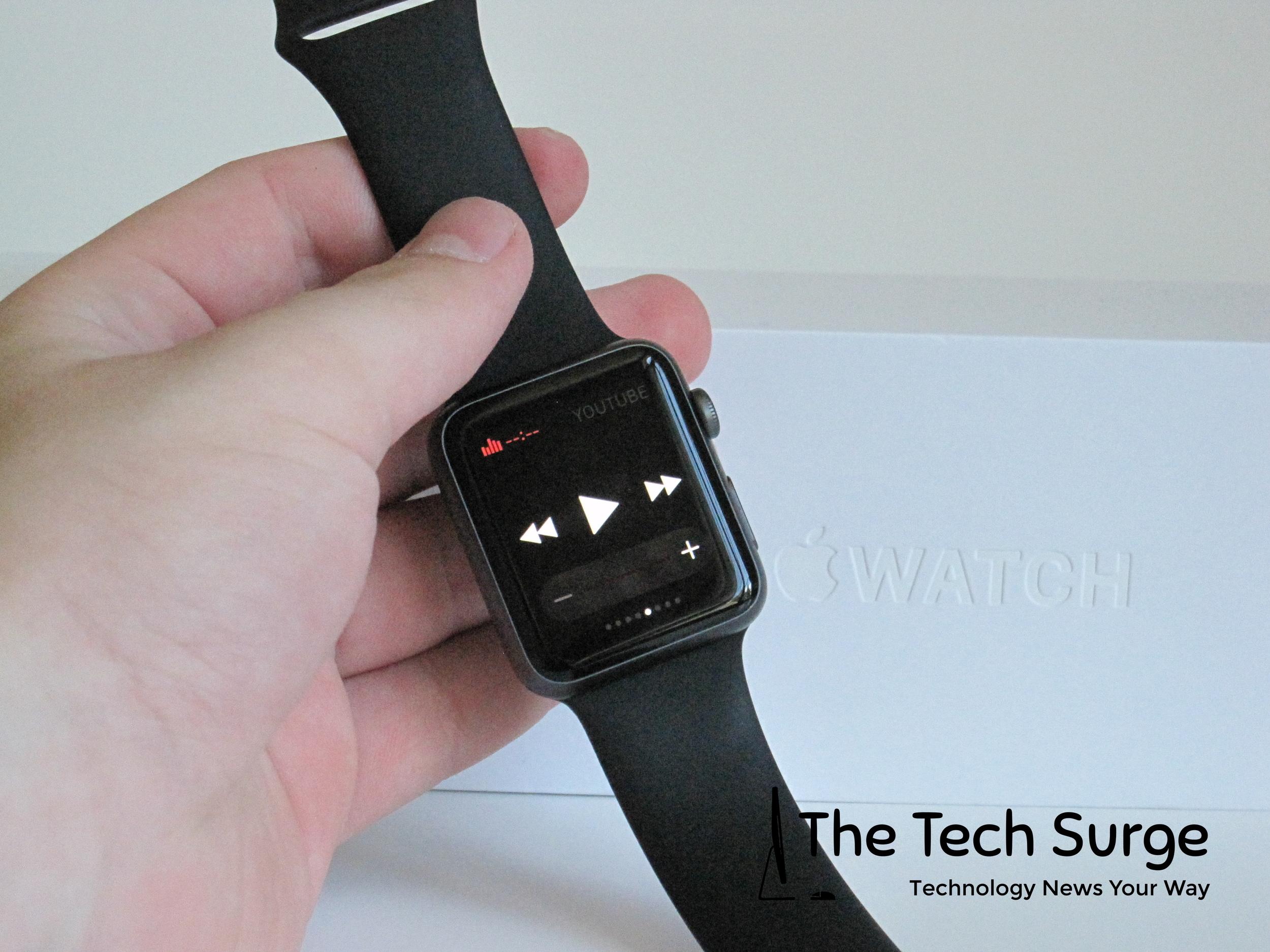 Apple's media control in glances