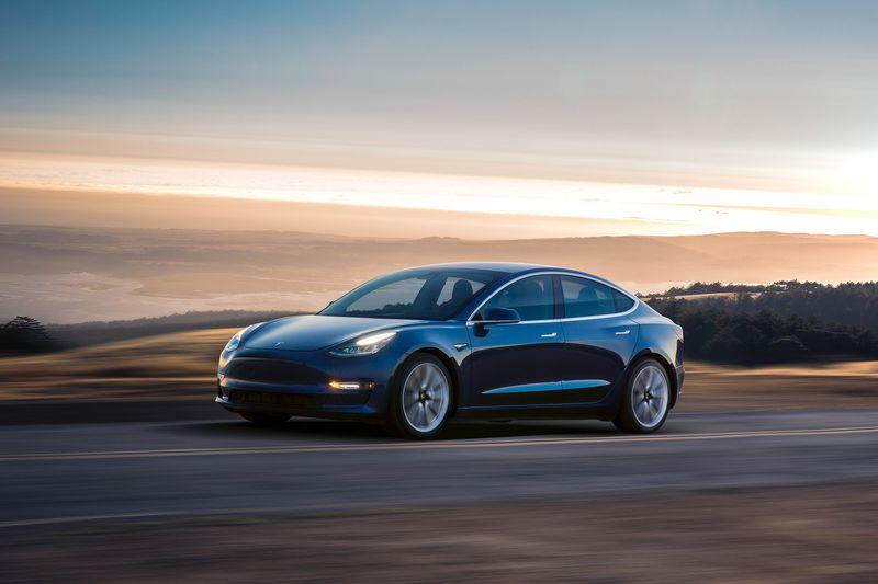 | Source: Tesla | A closer look at the Model 3.