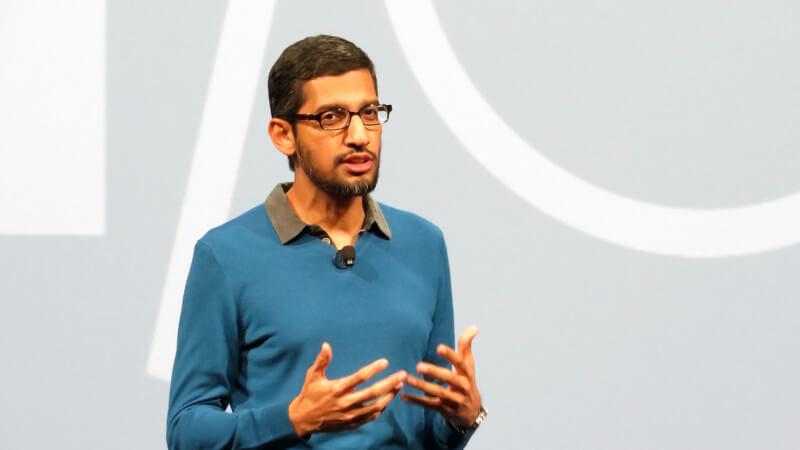 | Google's CEO - Sundar Pichai