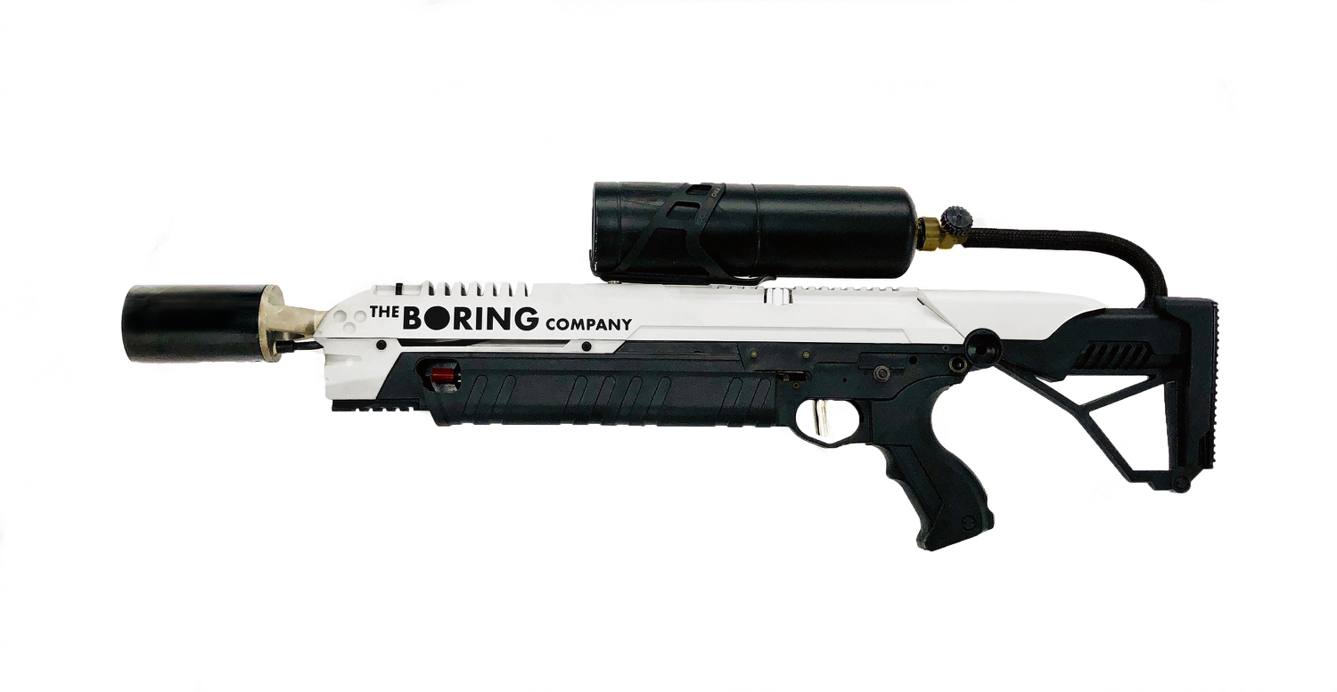 The Boring Company Flamethrower that is currently available for pre-order. | Source: The Boring Company