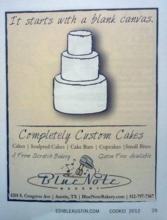 Bakery print ad