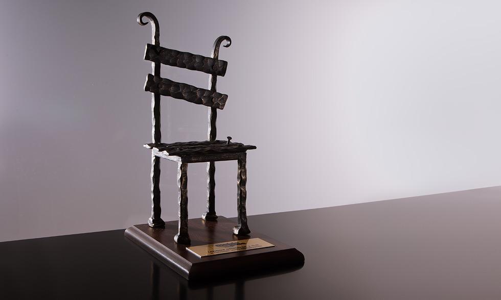 """Nagroda Meble Roku za zestaw """"Aesthetix"""",2008 rok w kategorii meble tapicerowane."""