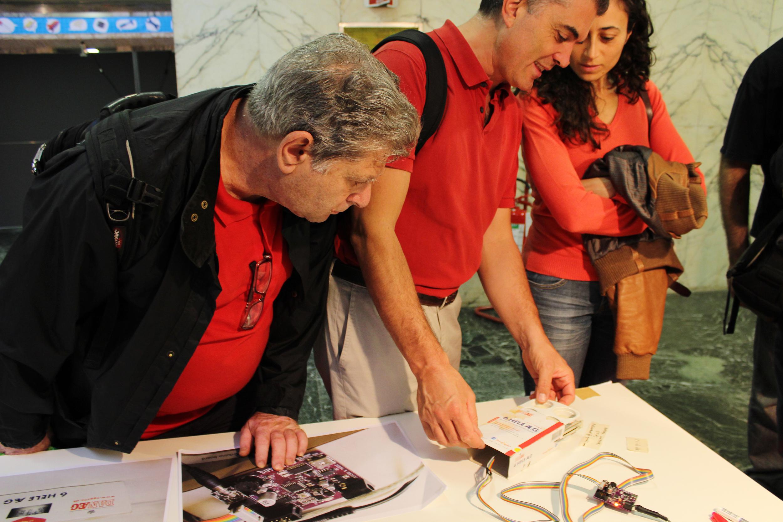 Exhibit at Maker Faire, Rome, 2013