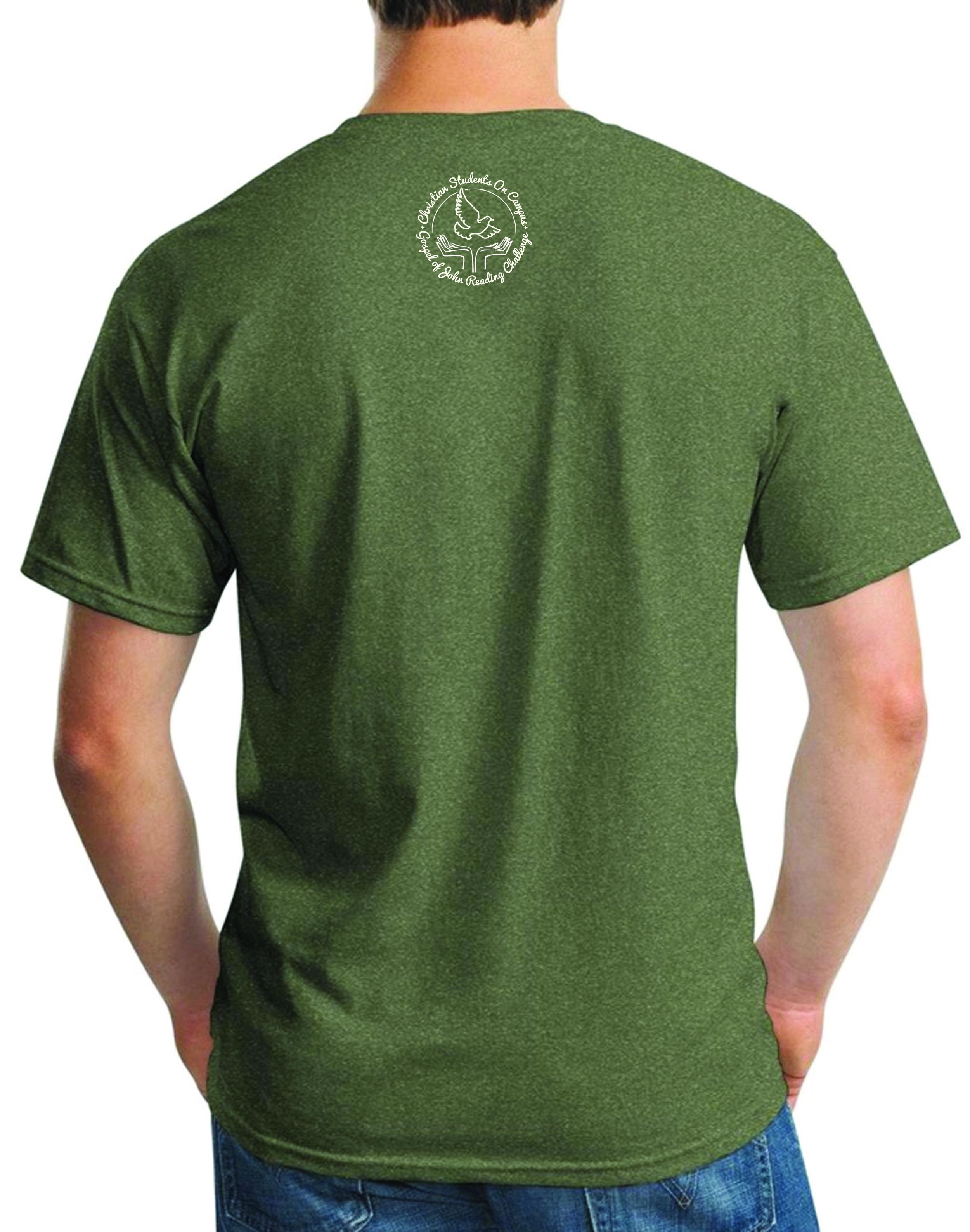 Gospel of John Reading Challenge T Shirt