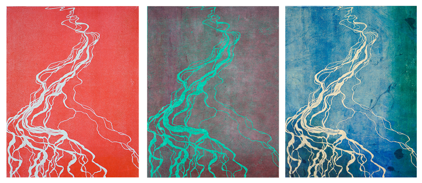 Braided River Tryptic