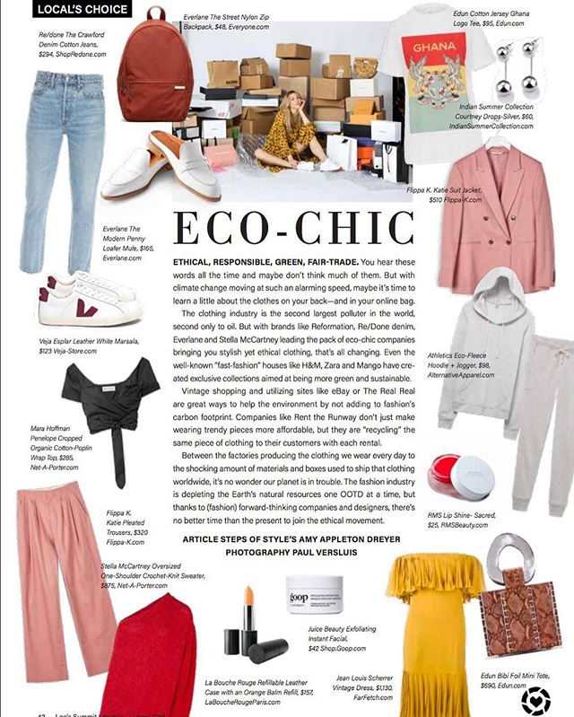 Shop this month's Eco-Chic edit out in Leawood Lifestyle Magazine now 💥 #ecochic #fastfashion http://liketk.it/2vf7t #liketkit @liketoknow.it (up on the blog ✨)