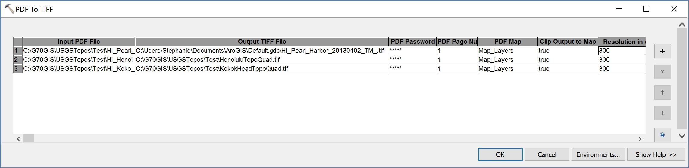 PDF To TIFF Batch Grid Mode