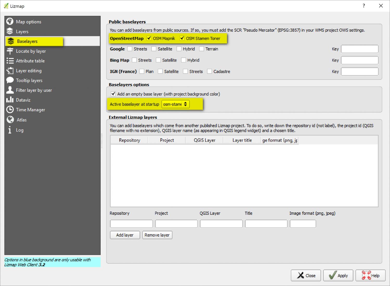 Using QGIS, Lizmap Plugin and Web Client to Publish Web Maps