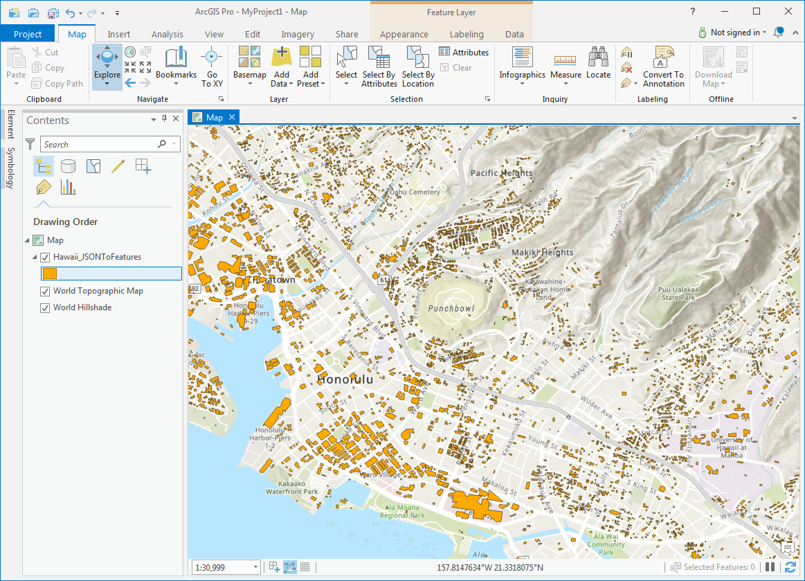 Adding and Viewing GeoJSON in QGIS and ArcGIS — open.gis.lab on
