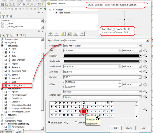 Tips for Creating ArcGIS-like Symbology in QGIS — open gis lab