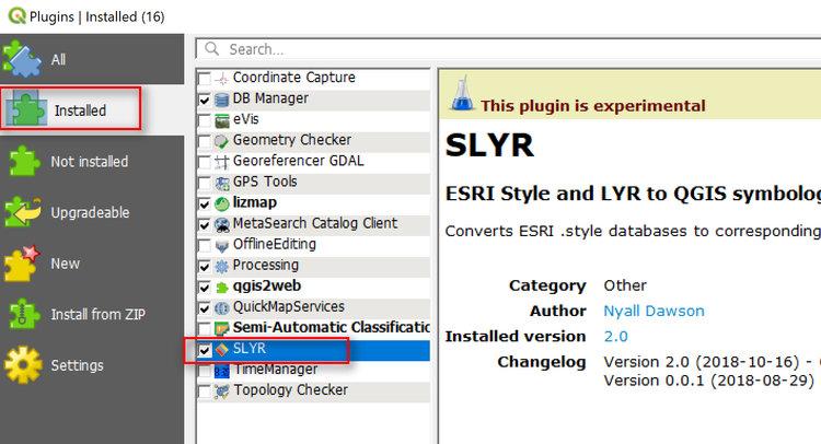 Converting ESRI Styles to QGIS XML Using SLYR — open gis lab