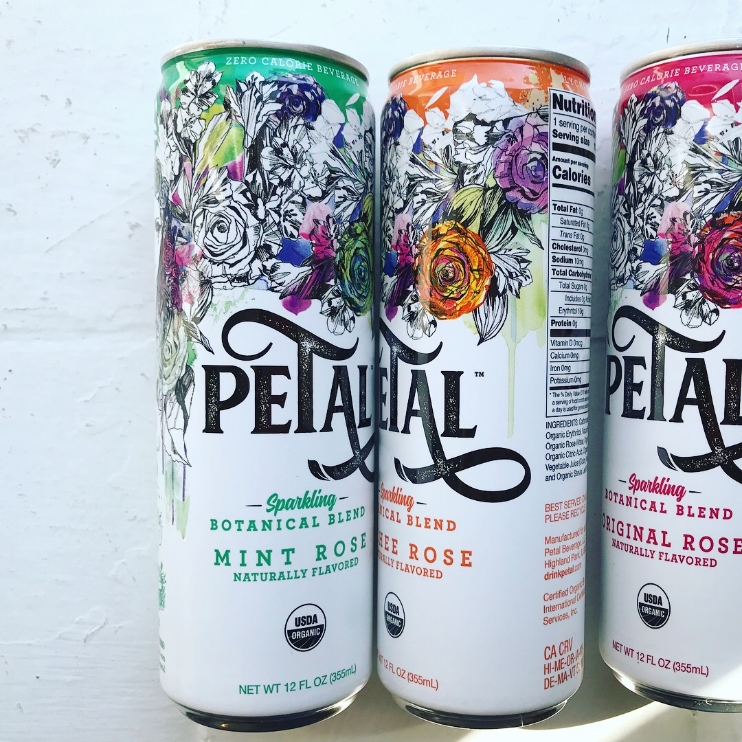 Petal cans illustration by Holly Sharpe
