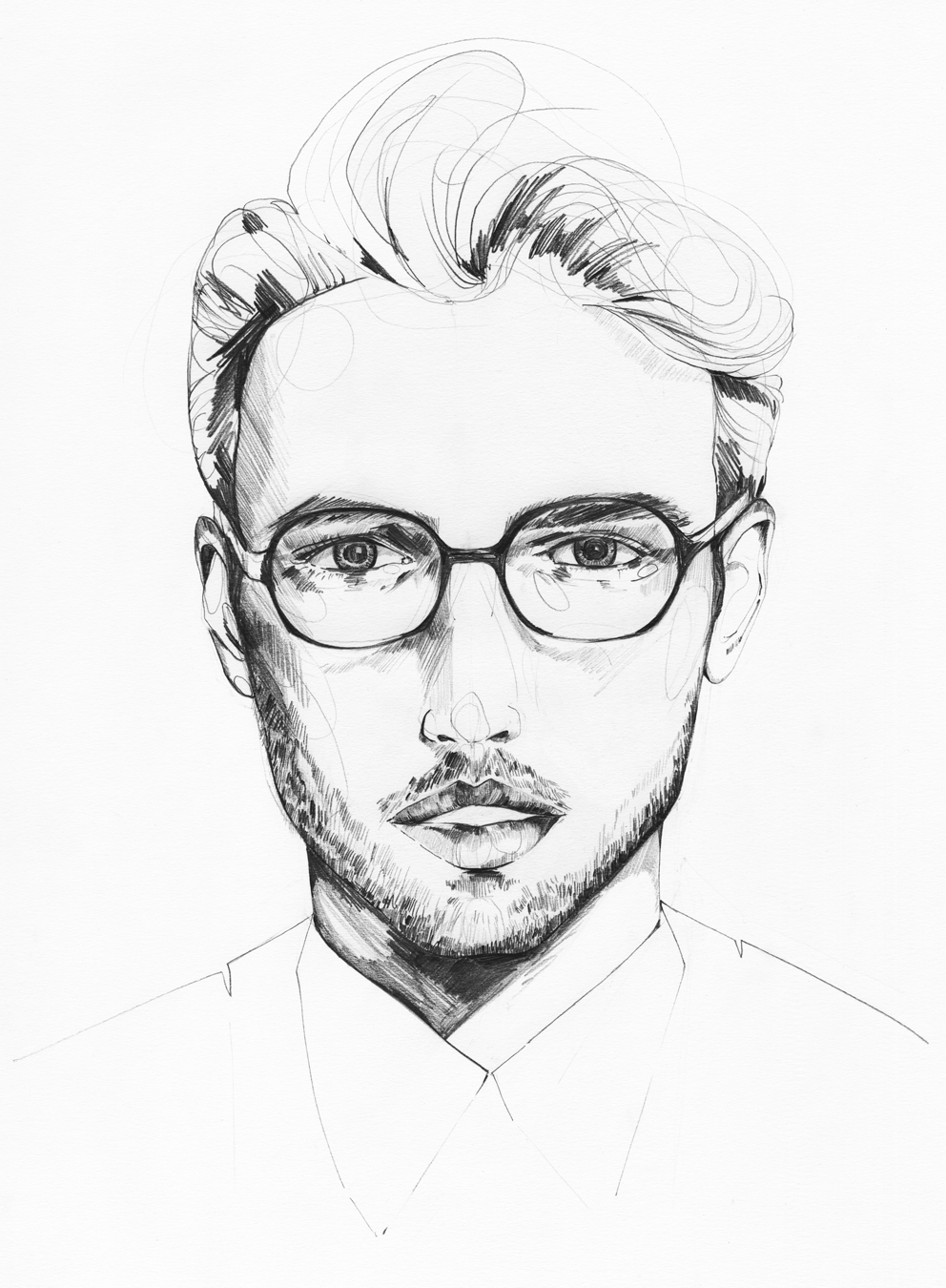 Man portrait pencil Holly Sharpe for web.jpg