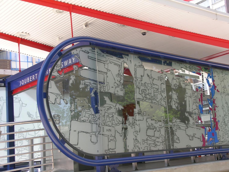 Johannesburg's Rea Vaya: Station artwork by local designers