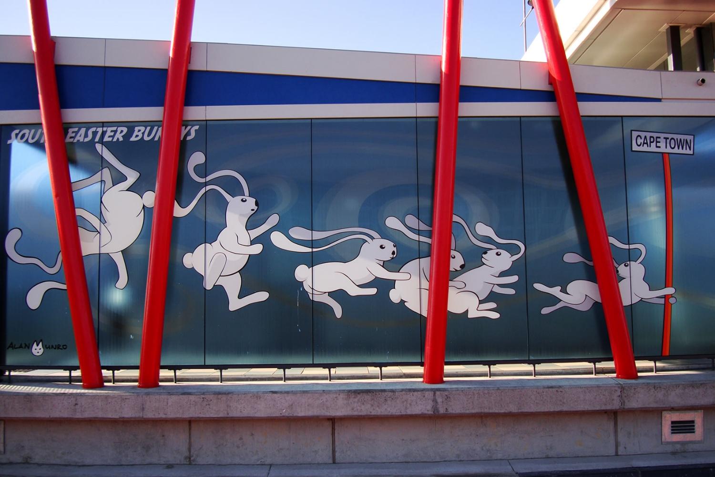 Cape Town's MyCiti: Stations include local artwork