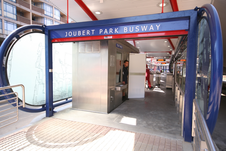 Johannesburg's Rea Vaya BRT Station