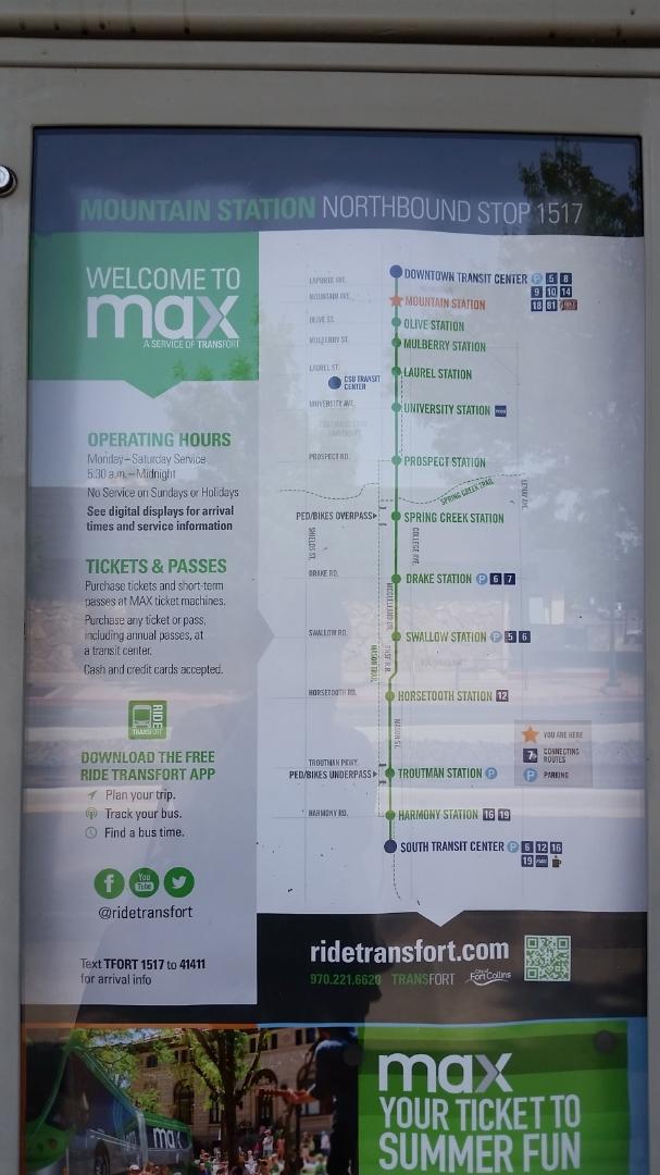Transit information