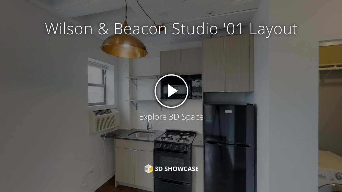 Dwell Chicago owns a Matterport virtual tour camera. With the tours potential tenants can do a virtual walk-through before even scheduling an appointment.
