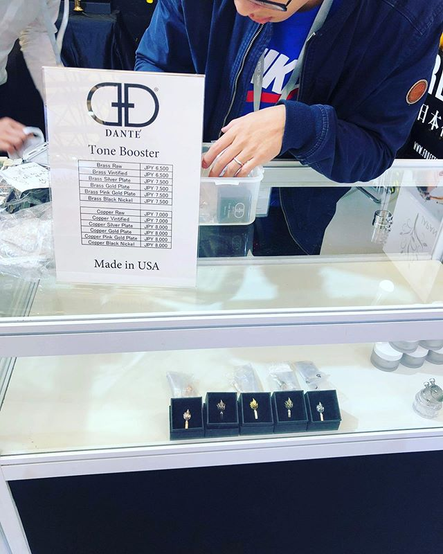 Danté Tone Boosters are being sold at The Music China Trade Show today through @forestonejapan check them out if you are there.