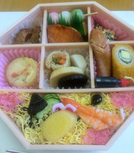 Isn't this a stunning bento? I give it an A+.