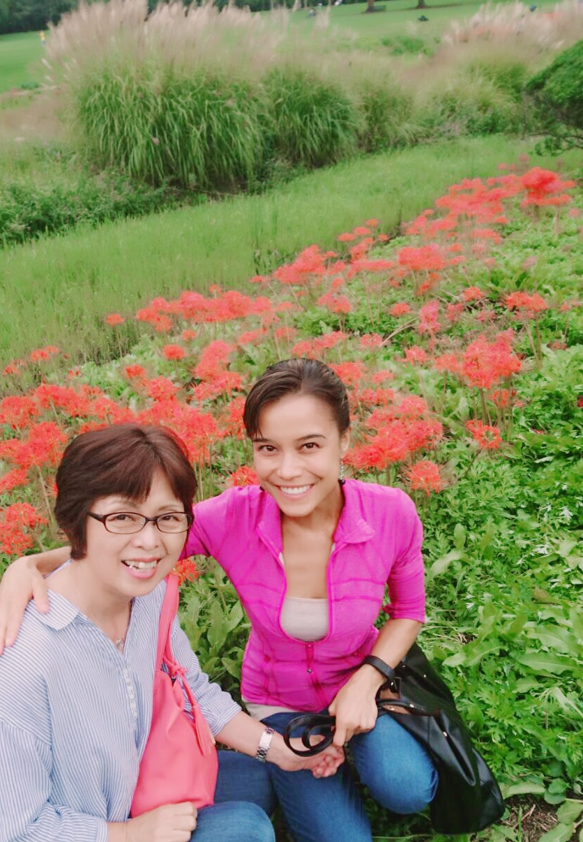 Exploring the gorgeous 万博公園 in Osaka with my Aunt & Uncle!
